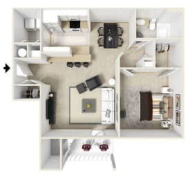 Floor Plan Everglades