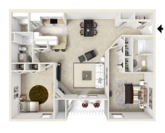 Floor Plan Yellow Stone