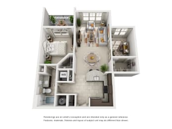 Floor Plan A1 Den