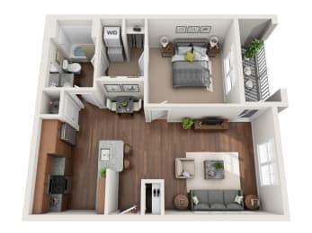 Floor Plan The Lanier