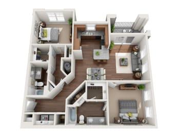 Floor Plan The Buford