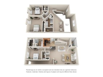 Floor Plan TH3 A