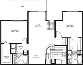 Floor Plan Middleburg