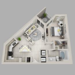 Floor Plan Felicity - A1