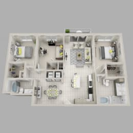 Floor Plan Whimsy - C2