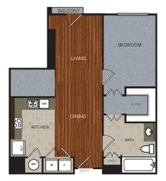 A3D Floor Plan at Berkshire Riverview, Austin, TX, 78741
