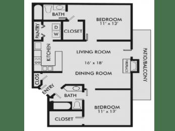 Floor Plan Charleston 2-2