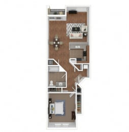Zoom of The Marbella floor plan at Legends at Rancho Belago, Moreno Valley, 92553