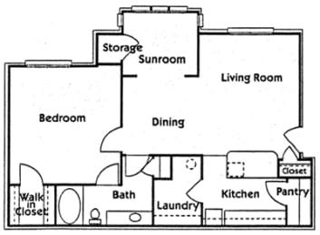 Floor Plan Ph 2 1Br