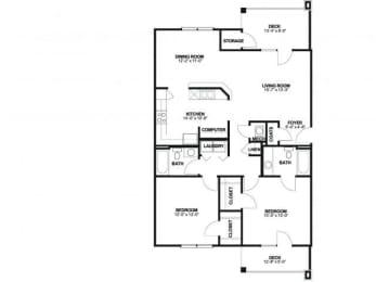 Floor Plan BW