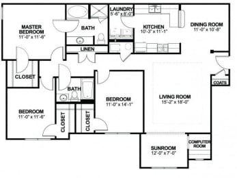 Floor Plan CSR