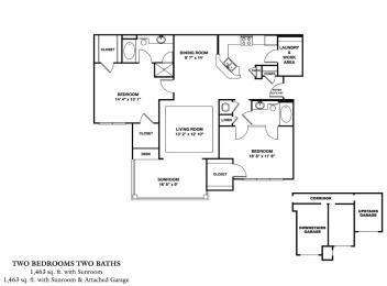 Floor Plan B3SG - Balkan SR Garage
