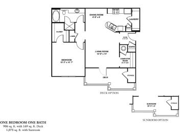 Floor Plan A1S - Olympus/SR