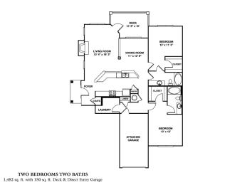 Floor Plan B4 - McKinley