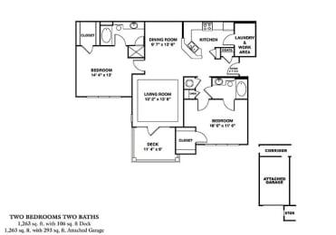 Floor Plan B1G - Rainier