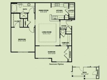 Floor Plan 1x1_1075