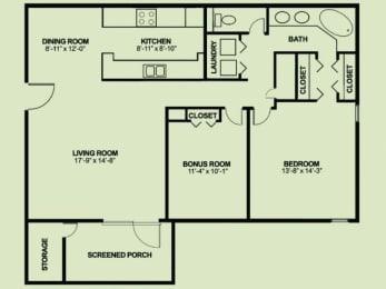 Floor Plan 1x1_1267