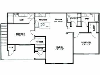 Floor Plan 2x2_1563