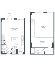 AL4 Floor Plan at Highgate at the Mile, McLean, VA