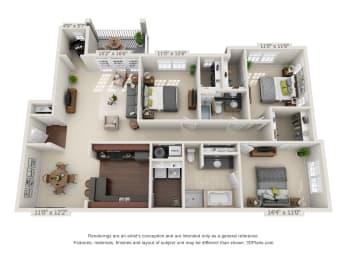 Floor Plan The Rocky Top Deck