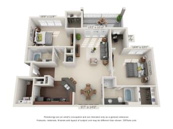 Floor Plan The Smoky Mountain Deck
