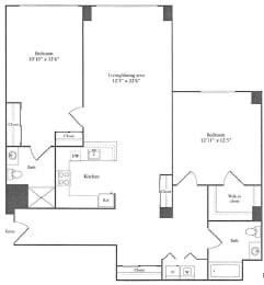 Floor Plan 1,320 sq. ft.