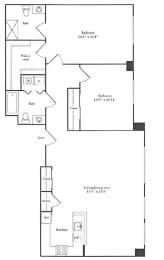 Floor Plan 1,352 sq. ft.