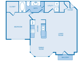 A2 Floorplan at The Legends at Indian Springs, Kentucky