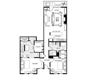 Floor Plan A6-1, opens a dialog