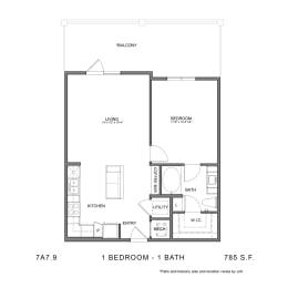 Floor Plan 7A7.9, opens a dialog