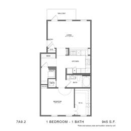 Floor Plan 7A9.2, opens a dialog
