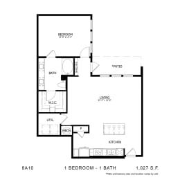 Floor Plan 8A10, opens a dialog