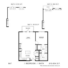 Floor Plan 8A7, opens a dialog