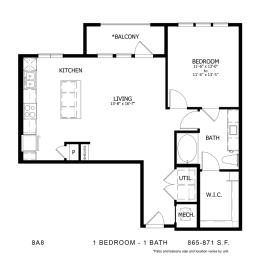 Floor Plan 8A8, opens a dialog