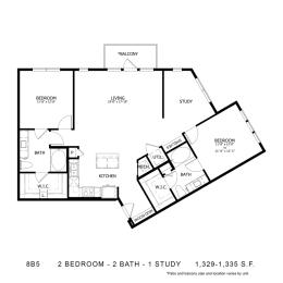 Floor Plan 8B5