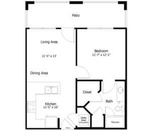 Floor Plan 4A1