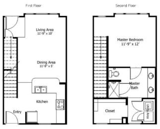 Floor Plan 5THA6.1