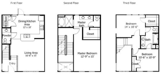 Floor Plan 5THC1, opens a dialog