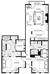 Floor Plan A6-2, opens a dialog