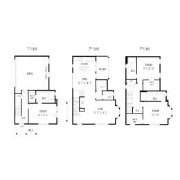 THC2: 3 Bedroom, 3.5 Bathroom, 2 Car Garage Townhome