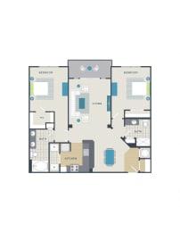 Floor plan at 712 Tucker, Raleigh, NC 27603