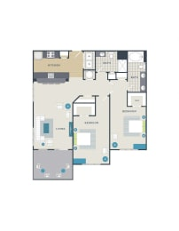 Floor plan at 712 Tucker, Raleigh, NC