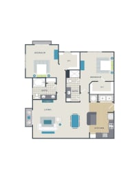 Floor plan at 712 Tucker, Raleigh, 27603