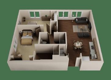 Two Bedroom, Two Bath Apartments in Downtown Sacramento | Legado de Ravel