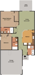 Floor Plan at Regency Preserve