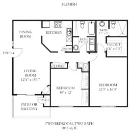 Floor Plan Flemish