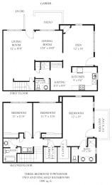 Floor Plan Garber