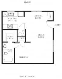 Floor Plan Riveria