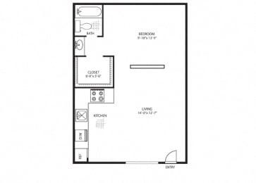 Floor Plan Rio Chama