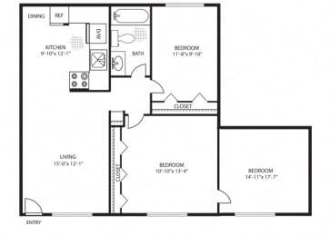 Floor Plan Santa Bonita